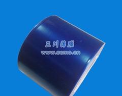 低粘蓝色网格保护膜
